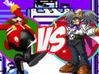 Robotnik and Dr. Wily Throw It Down