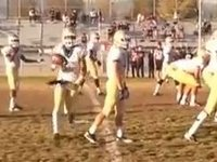 Amazing Football Trick Play