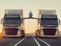 Van Damme's Epic Split Stunt