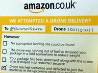 Amazon Drone Spawns Parodies