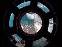 The View Outside the Window of ISS