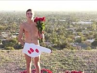 Naked Guy Asks Miley Cyrus to Prom