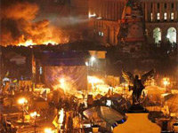 #Euromaidan Protests Intensify in Ukraine