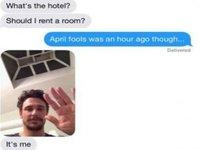 James Franco's Teen Hookup Instagram Scandal