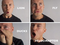 Spot-On Impressions of 30 Different Animals
