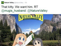 Nature Valley Befriends Anime Fans on Twitter