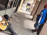A Sidewalk Jam Session with Three Strangers