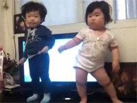 Korean Toddler Dances Up a Viral Storm