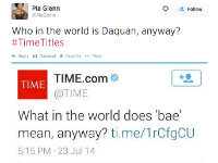 #TimeTitles Mocks TIME's Slang Coverage