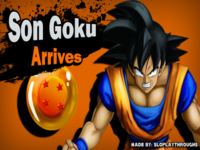 Goku in <i>Super Smash Bros.</i>