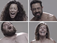 Taser Portraits in Slow Motion Photography