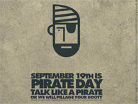 "All Hands Hoay! It's ""Talk Like a Pirate"" Day"
