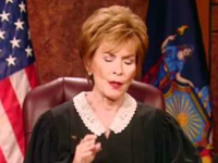 Go Home Judge Judy, You're Drunk