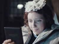 Downton Abbey Goes Electric with Kindle Ad