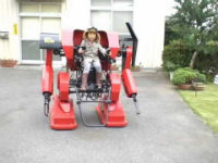 Japanese Dad Built a Real Mecha for His Son