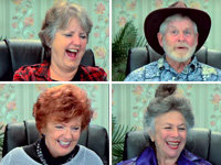 Elders React to Men in Simulated Labor