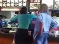 Woman Throws Temper Tantrum at McDonald's