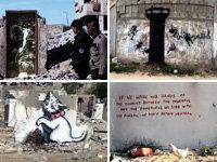 Banksy Goes Undercover in Gaza Strip