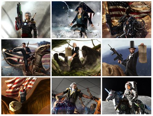 Badass Patriots of 'Murica
