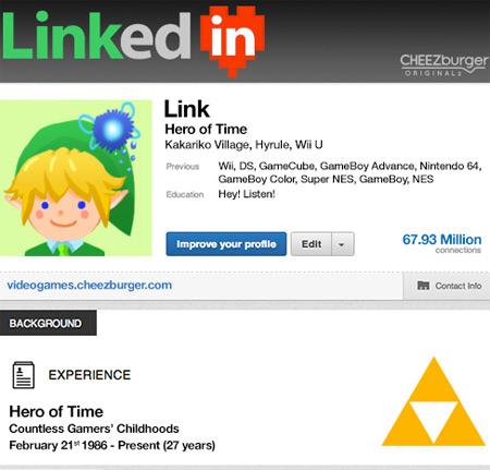 Happy Birthday, Link!