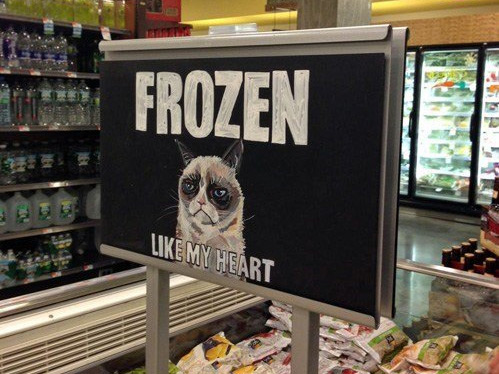 Meanwhile in the Frozen Food Aisle