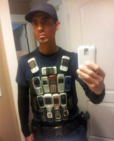 Nokia's 3000 Bulletproof Vest Series