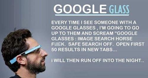 Art of Trolling: Google Glass Edition