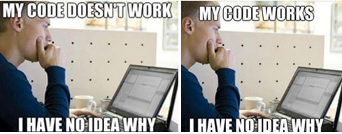 First World Programmer Problems