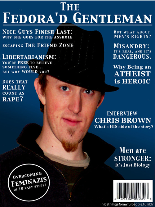 The Ultimate Fedora-Wearer's Magzine