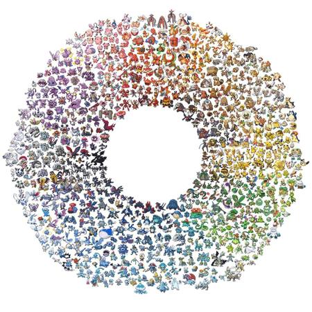 The Color Wheel of Pokémon