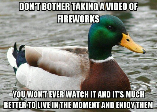 Actual Advice Mallard: July 4th Edition