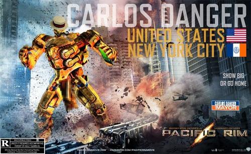 Pacific Rim(job): It's Carlos Danger!