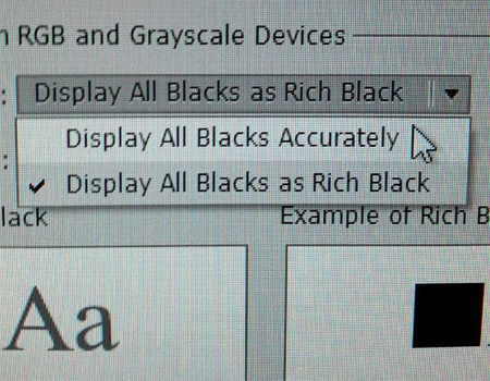 That's Racist: Printing Preferences