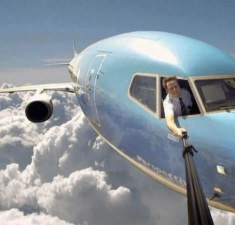 Seems Legit: Extreme High Altitude Selfie