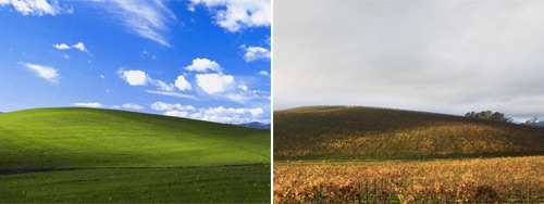 The Green Hill after Microsoft Windows XP