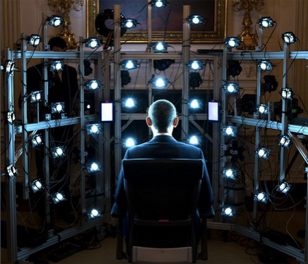 The First 3D Presidential Portrait in the Making