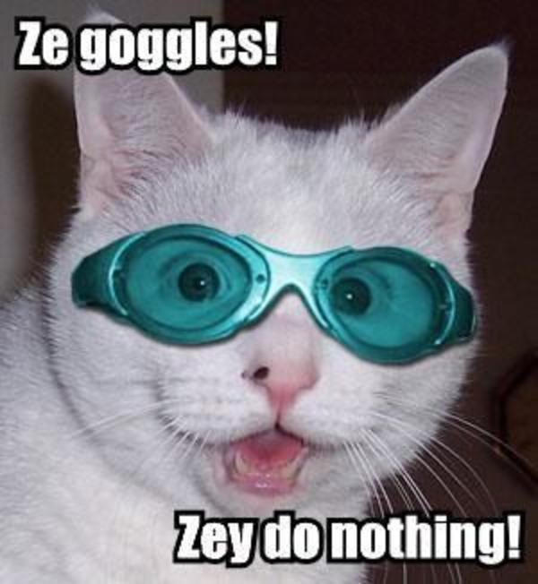 The Goggles Do Nothing! | Know Your Meme