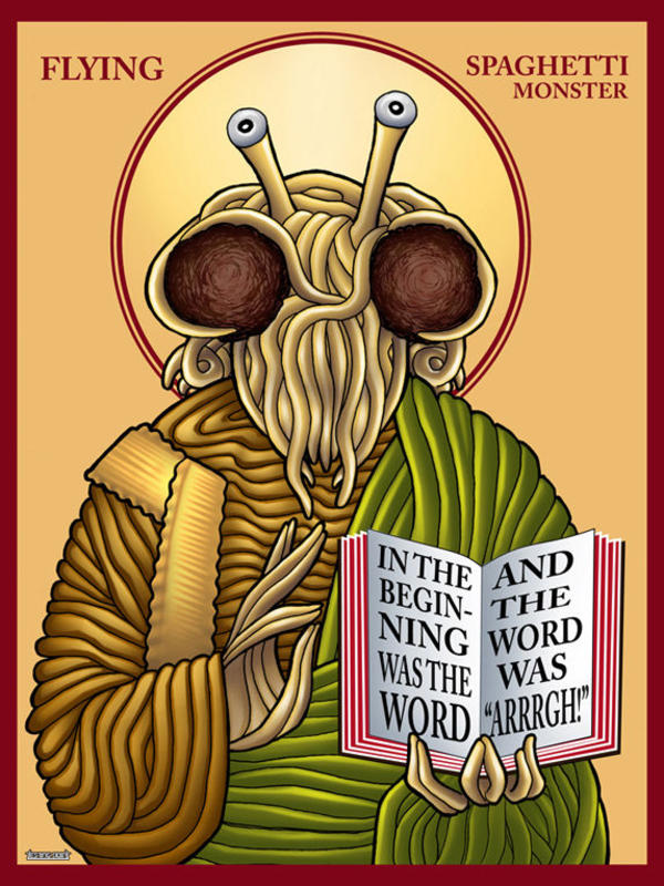 [Image - 8553] | The Flying Spaghetti Monster | Know Your Meme