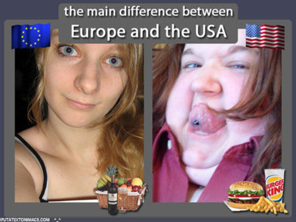 5 ways Americans and Europeans are different