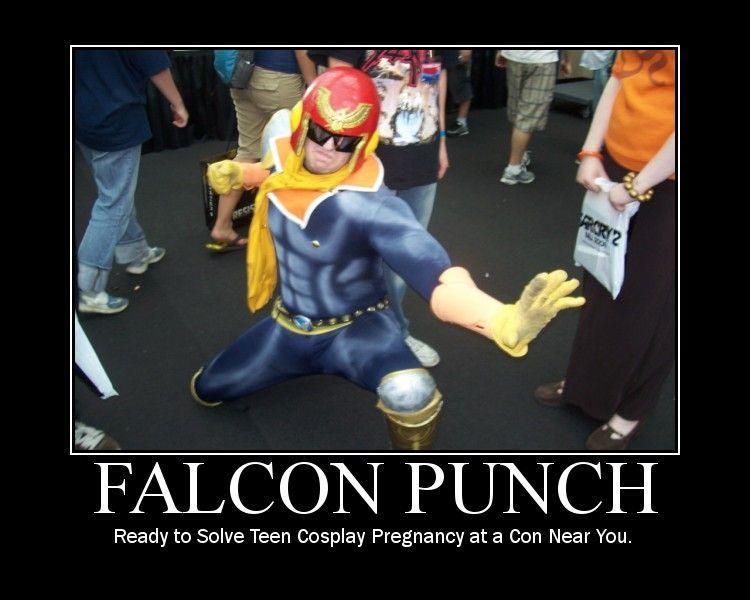Captain falcon punch - photo#26