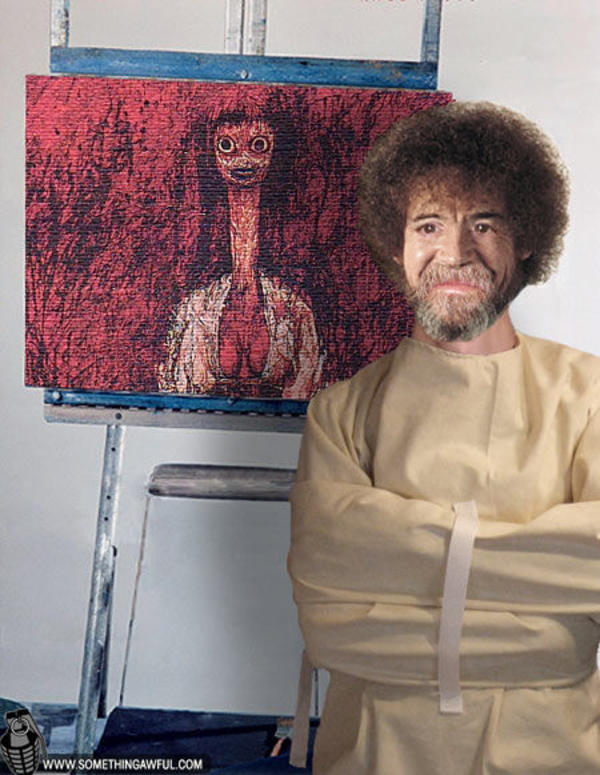 Image 33347 Photoshop Bob Ross Know Your Meme