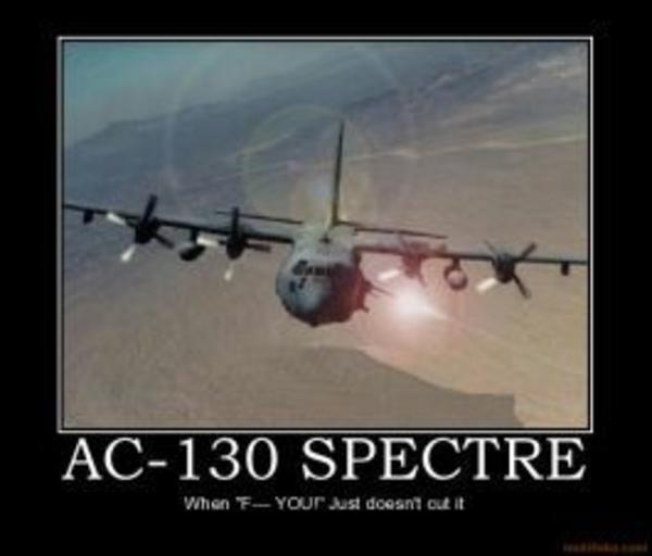Image 66470 Ac 130 Spectre Gunship Enemy Ac 130