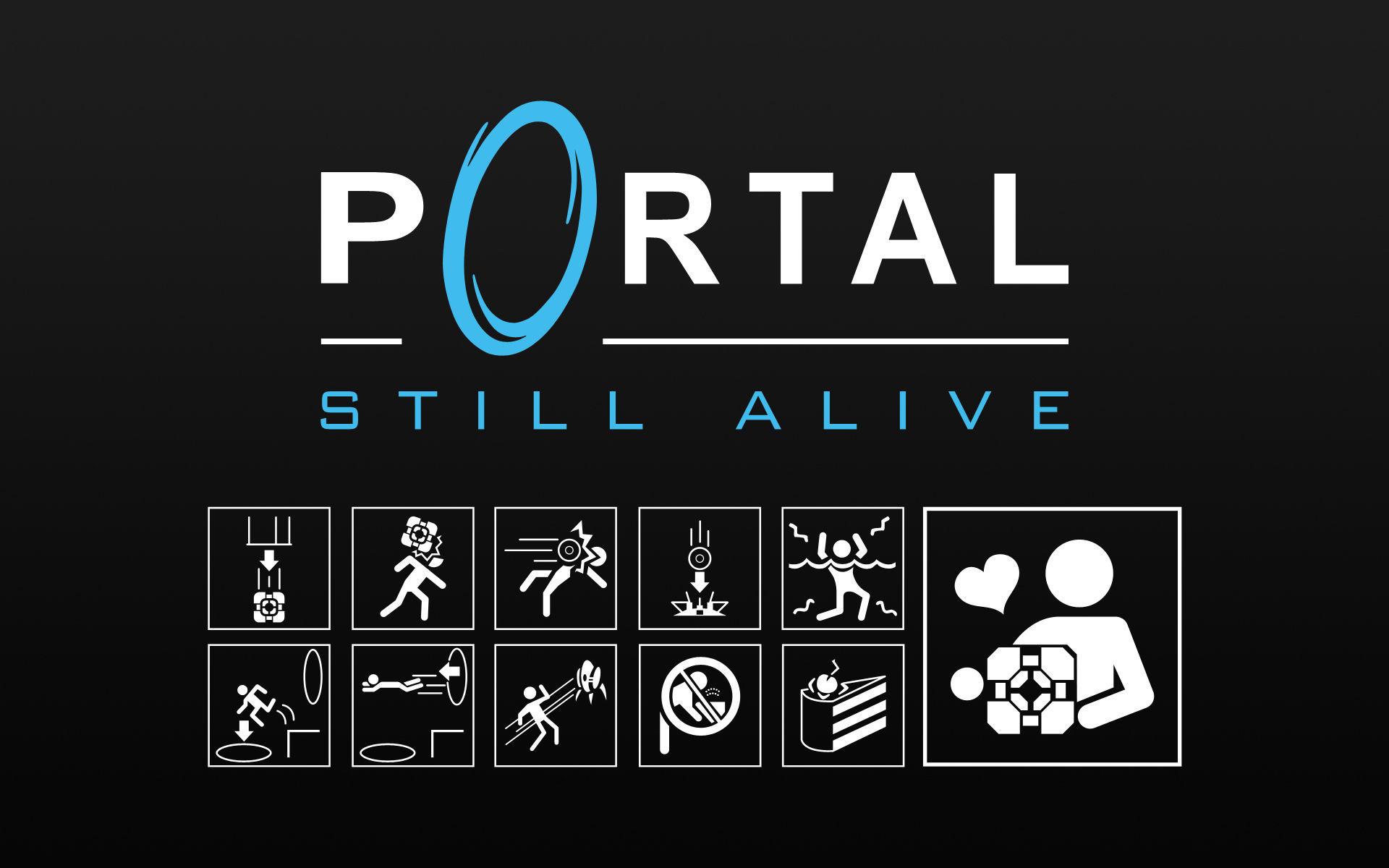 Image 71506 Still Alive Portal End Theme Know