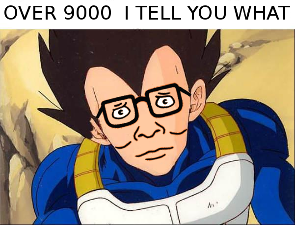 [Image - 84857] | It's Over 9000! | Know Your Meme