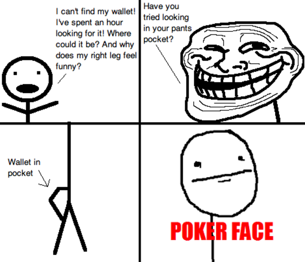 how to read faces in poker