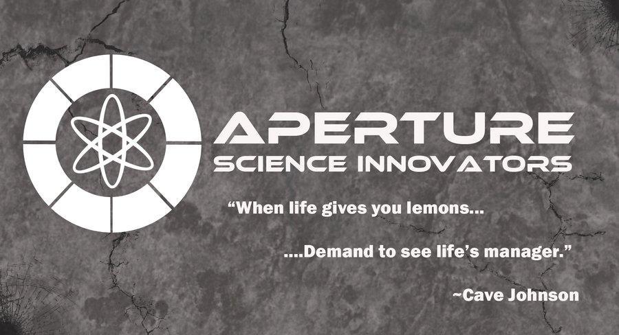 Image 127764 Cave Johnson Combustible LemonsAperture Science Innovators