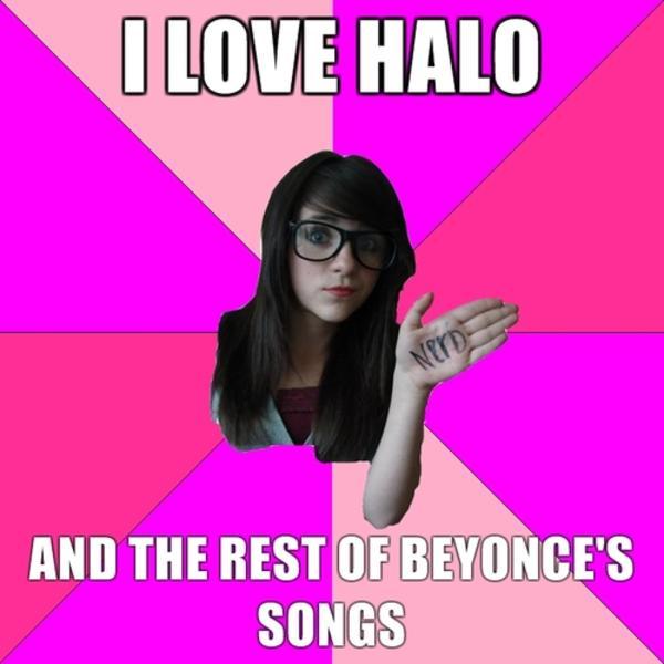 Idiot nerd girl meme batman