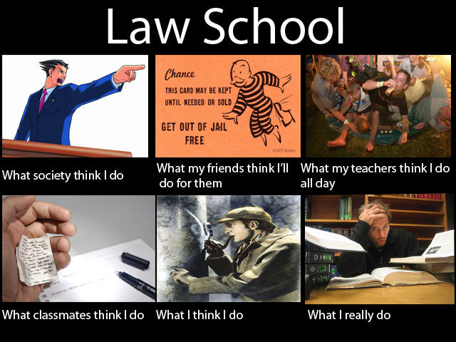 Quotes About Law School: What People Think I Do / What I Really