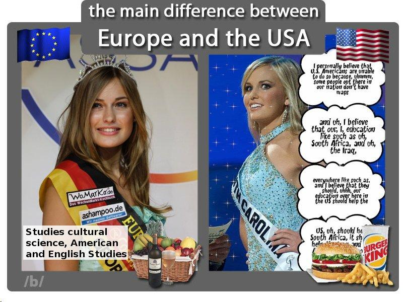 Usa vs europe dating