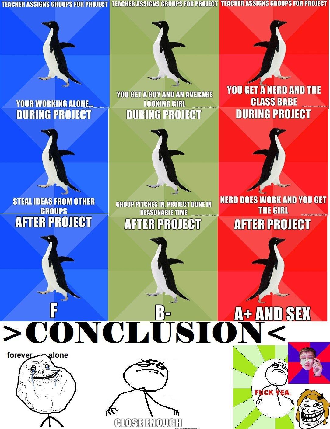 Remarkable Socially awkward awesome penguin meme